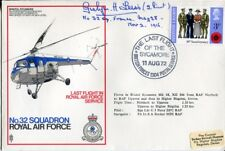 Great War 32 Sqn ace Gwilym H Lewis DFC signed cover VERY rare!