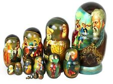 Unique Russian Nesting Doll - Jewish Holidays- Artist Signed