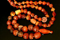 Wonderful Ancient Carnelian Beads Tibetan Carnelian Beads, Indus Valley Beads