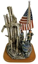 "Red Hats of Courage ""Image of Hope"" 9/11 Fire Fighter Figurine 10/0846 2001"