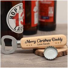 Beer Bottle Opener Gifts PERSONALISED Christmas Gifts for Him Dad Secret Santa