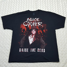 Alice Cooper Raise The Dead Tour 2013 Official Concert T-Shirt Size 2XL FREESHIP