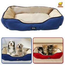 S/M/ Large Pet Dog Puppy Cat Soft Fleece Warm Sofa Cotton Plush Mat Sleeping Bed