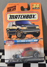 Matchbox Classic Decades '33 Ford Street Rod Good Year Tires