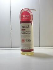 Found Firming Camellia Rose Cleansing Oil, 3.8 Oz/ Dissolves Makeup & Impurities