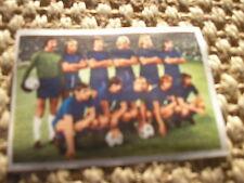 UJPEST DOZSA TEAM CARD 1975/76 FOOTBALL FRENCH ALBUM NO PANINI FIGURINA 75/76