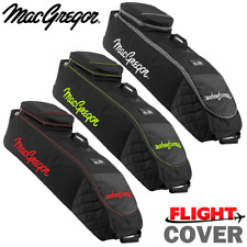 MACGREGOR XL DELUXE WHEELED PADDED GOLF BAG FLIGHT TRAVEL COVER @ 50% OFF