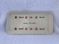 "Rae Dunn MERRY CHRISTMAS Candy 14"" Platter"