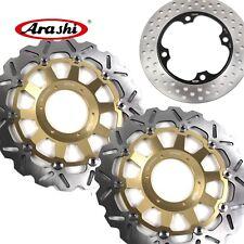 Front Rear Brake Disc Rotors For Honda CBR929RR 2000-2001 CBR 929RR CBR 929 RR G