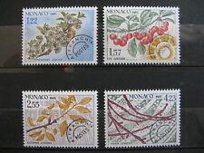 MONACO neufs  préoblitérés  n° 86 à 89 (1985)