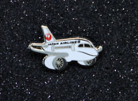 Pin JAL JAPAN AIRLINES Airbus A350 XWB metal Pin 1 inch /25mm pudgy / chubby