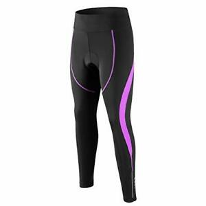 Women's Cycling Tights 3D Padded Compression Tight Long Bike Bicycle Pants wi...