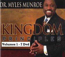 Kingdom Principles The Key to Keys of the Kingdom Set - 32 Dvds - Myles Munroe