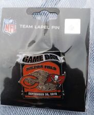 Tampa Bay Buccaneers VS Chicago Bears 9/30/18 BRAND NEW NFL GAME DAY PIN