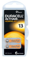 12st Duracell HearingAid batteries AirZinc DA 13 Passend für Hörgerät: Siemens