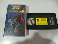 La Leyenda de Sleepy Hollow Mini Clasicos de Walt Disney - VHS Cinta Español