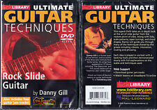 Lick Library Rock Slide Guitar Techniques, DVD, Danny Gill