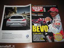 AUTOSPRINT 2008/43=GP F1 CINA=HAMILTON=RALLY ROSSETTI TRICOLORE + EUROPEO=