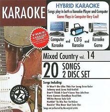 NEW ASK-107 Karaoke: Mixed Country, Lee Ann Womack, Keith Urban, Rascal Flatts