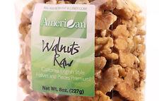 8oz Gourmet Style Bag of Light California Raw Walnuts Halves & Pieces (40.9)