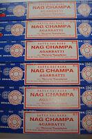 Genuine Nag Champa Original Incense 6x15g boxes of incense ~uk seller
