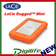LaCie Rugged Mini 1TB External Mobile Drive USB 3.0 for PC & Mac LAC301558