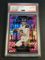 JARED GOFF 2016 PANINI SELECT #229 PINK PRIZMS REFRACTOR ROOKIE RC /15 PSA 10
