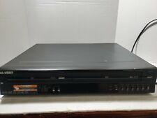 Go Video VR4940 DVD Recorder + VCR color Black (no remote) VHS Retro Combo Unit