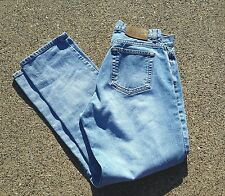 Vintage Women's Calvin Klein Stonewashed Jeans Button Fly Made in USA Size 11