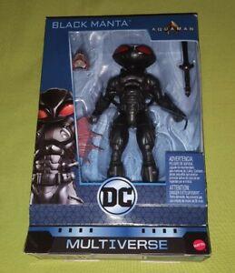 DC Multiverse Justice League Aquaman Movie Black Manta Figure 2018