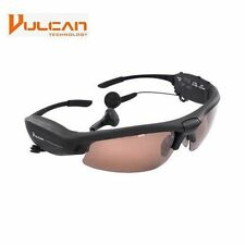 NEW Vulcan Polarized Multimedia Sunglasses with  Camcorder, Camera & Audio Play