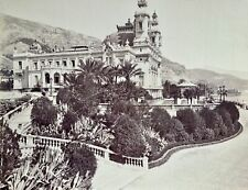 More details for 1880 c. large albumen photograph of the casino at monte carlo