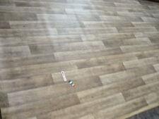 7854 PVC Belag 491x197 Boden Bodenbelag Rest Holz verwittert angegraut günstig