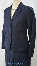 J J. Crew pant Suit Pantsuit 2PC set blazer Womens Navy Favorite Fit Size 4 NEW