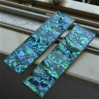 1Pc Abalone Shell Acrylic Slabs Handle Turning Blanks Material Making Knife DIY