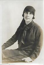Photo Italie - Donna Joséphine GARIBALDI-ZILUCA en costume Fasciste - 1930 -
