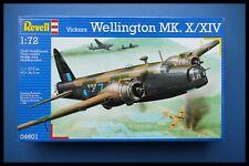 Vintage Revell Vickers Wellington Mk.X / XIV 1:72 Model Kit