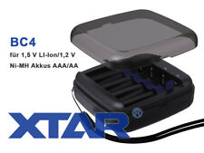 XTAR BC4 USB Ladegerät für 4 x Li-Ionen Akkus 1,5V oder NiMH 1,2V AA AAA
