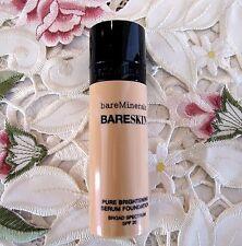 BARE MINERALS~Bare Skin BRIGHTENING SERUM FOUNDATION~07 NATURAL~SPF 20~1 oz