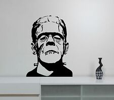 Frankenstein Wall Sticker Horror Zombie Vinyl Decal Movie Art Bedroom Decor frk6