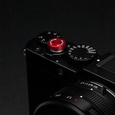 Gariz Sticker Soft Release Button XA-SBA6 for Sony Fuji Leica Canon Nikon Red