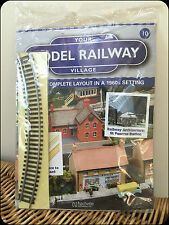 Your Model Railway Village Magazine No. 10 Ten Hachette with free gifts SALE
