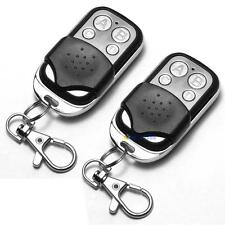 2 x Universal Cloning Remote Control Key Fob for Car Garage Door 433mhz OP