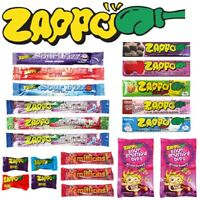 Zappo Assorted 2 Showbag Zappo Chews Drops Grumpy Dips Candy Pack Bulk Lollies