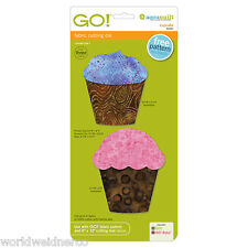 AccuQuilt GO! & Baby Fabric Cutter Cutting Die Cupcake 55097 Quilting Applique