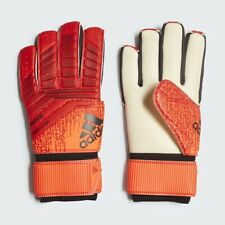 Adidas Predator Competition Soccer Goalie Gk Gloves Black Red Orange Sz 5 Dn8566