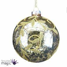 2756c8db4ee Adornos multicolores de bola de vidrio para árbol de Navidad ...
