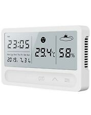 Digital Hygrometer Thermometer Indoor Room Outdoor Temperature Humidity Meter