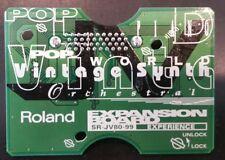 ROLAND SR-JV80-99 Experience EXPANSION BOARD jv-1080 1080