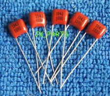 100PCS CBB 104J 100V 0.1uF 100nF P=5MM Metallized Film Capacitor